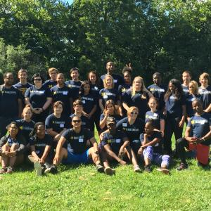 Blavin Scholars at Challenge Course 2016